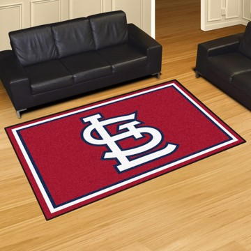 Picture of MLB - St. Louis Cardinals 5'x8' Plush Rug