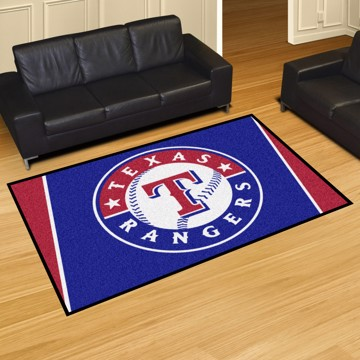 Picture of MLB - Texas Rangers 5'x8' Plush Rug