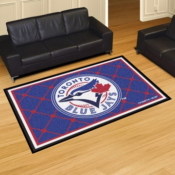 Picture of MLB - Toronto Blue Jays 5'x8' Plush Rug