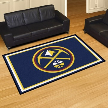 Picture of NBA - Denver Nuggets 5'x8' Plush Rug
