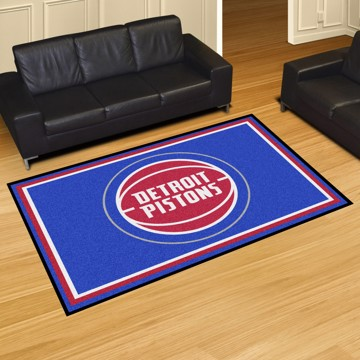 Picture of NBA - Detroit Pistons 5'x8' Plush Rug