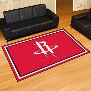 Picture of NBA - Houston Rockets 5'x8' Plush Rug