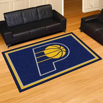 Picture of NBA - Indiana Pacers 5'x8' Plush Rug