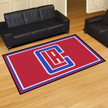 Picture of NBA - Los Angeles Clippers 5'x8' Plush Rug