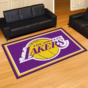 Picture of NBA - Los Angeles Lakers 5'x8' Plush Rug