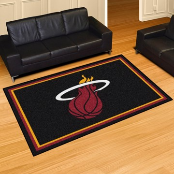 Picture of NBA - Miami Heat 5'x8' Plush Rug