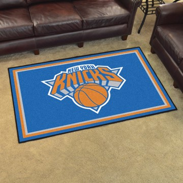 Picture of NBA - New York Knicks 5'x8' Plush Rug