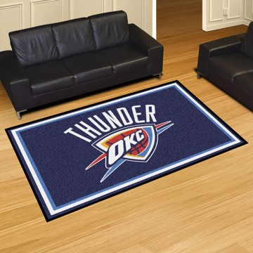 Picture of NBA - Oklahoma City Thunder 5'x8' Plush Rug