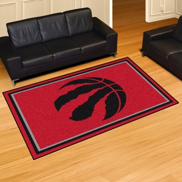 Picture of NBA - Toronto Raptors 5'x8' Plush Rug