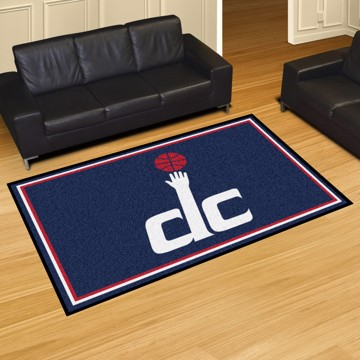 Picture of NBA - Washington Wizards 5'x8' Plush Rug
