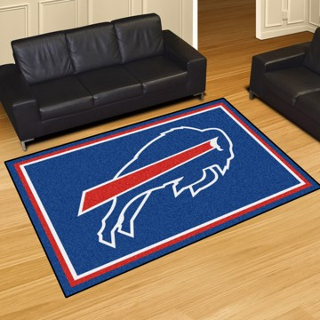 Picture of NFL - Buffalo Bills 5'x8' Plush Rug