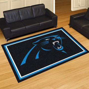 Picture of NFL - Carolina Panthers 5'x8' Plush Rug