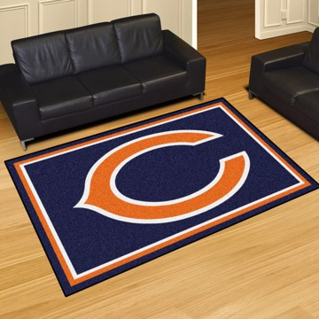 Picture of NFL - Chicago Bears 5'x8' Plush Rug