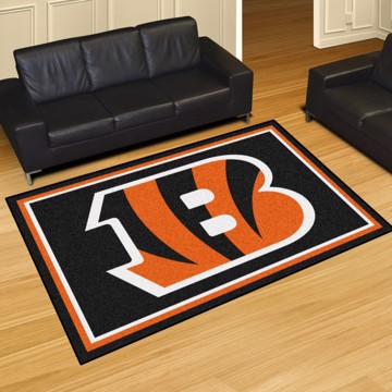 Picture of NFL - Cincinnati Bengals 5'x8' Plush Rug