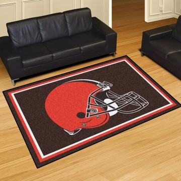 Picture of NFL - Cleveland Browns 5'x8' Plush Rug