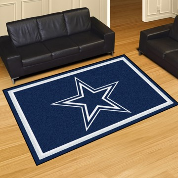 Picture of NFL - Dallas Cowboys 5'x8' Plush Rug