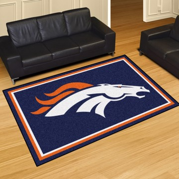 Picture of NFL - Denver Broncos 5'x8' Plush Rug