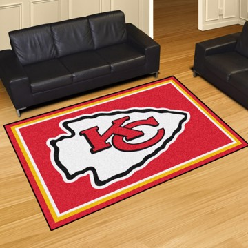 Picture of NFL - Kansas City Chiefs 5'x8' Plush Rug