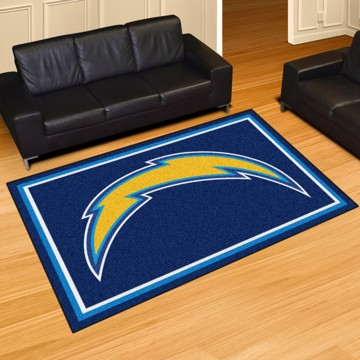 Picture of NFL - Los Angeles Chargers 5'x8' Plush Rug