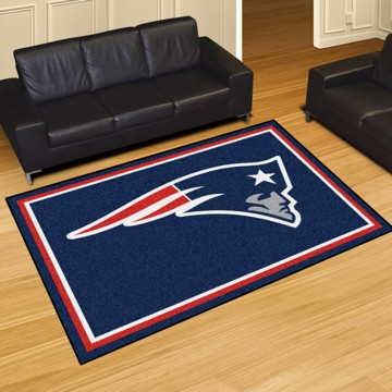 Picture of NFL - New England Patriots 5'x8' Plush Rug