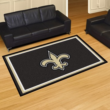 Picture of NFL - New Orleans Saints 5'x8' Plush Rug