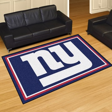 Picture of NFL - New York Giants 5'x8' Plush Rug