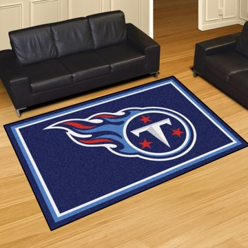Picture of NFL - Tennessee Titans 5'x8' Plush Rug