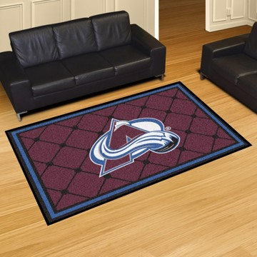 Picture of NHL - Colorado Avalanche 5'x8' Plush Rug