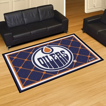 Picture of NHL - Edmonton Oilers 5'x8' Plush Rug