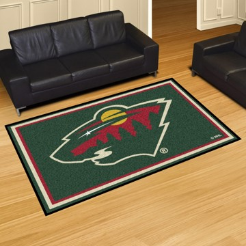 Picture of NHL - Minnesota Wild 5'x8' Plush Rug