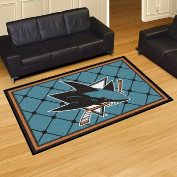 Picture of NHL - San Jose Sharks 5'x8' Plush Rug