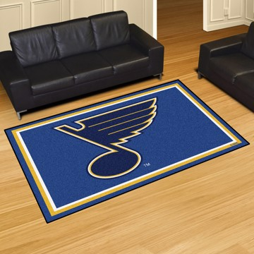 Picture of NHL - St. Louis Blues 5'x8' Plush Rug