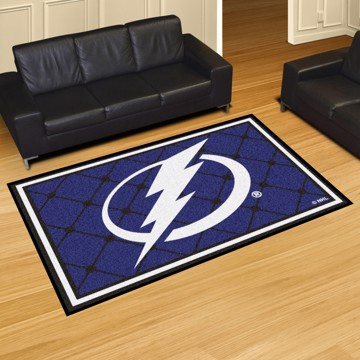 Picture of NHL - Tampa Bay Lightning 5'x8' Plush Rug