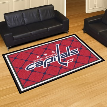Picture of NHL - Washington Capitals 5'x8' Plush Rug
