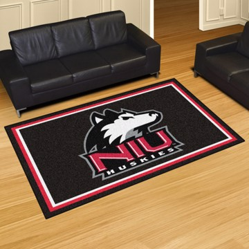 Picture of Northern Illinois 5'x8' Plush Rug