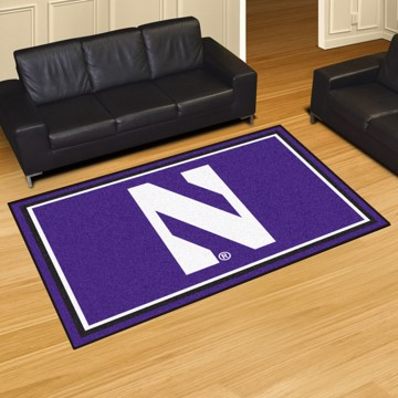 Picture of Northwestern 5'x8' Plush Rug