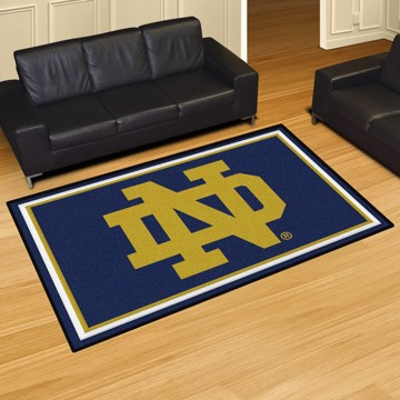 Picture of Notre Dame 5'x8' Plush Rug