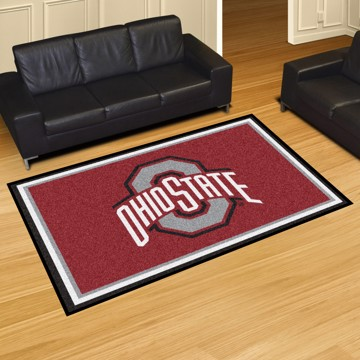 Picture of Ohio State 5'x8' Plush Rug