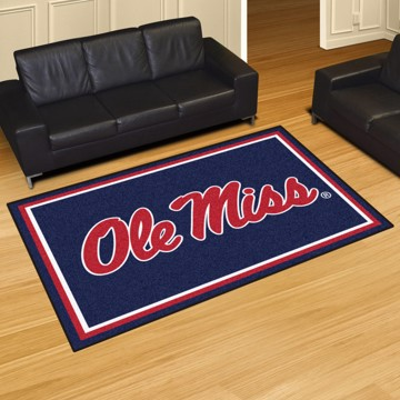 Picture of Ole Miss 5'x8' Plush Rug