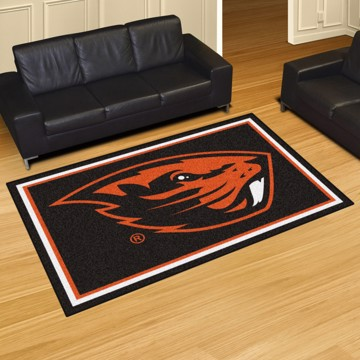 Picture of Oregon State 5'x8' Plush Rug