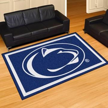Picture of Penn State 5'x8' Plush Rug