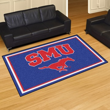 Picture of SMU 5'x8' Plush Rug