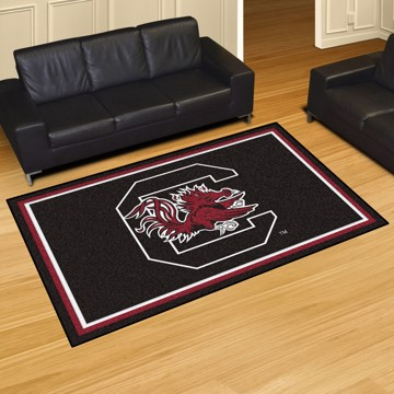 Picture of South Carolina 5'x8' Plush Rug