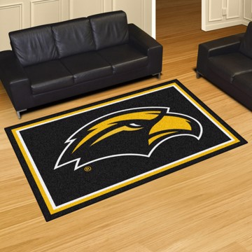 Picture of Southern Miss 5'x8' Plush Rug