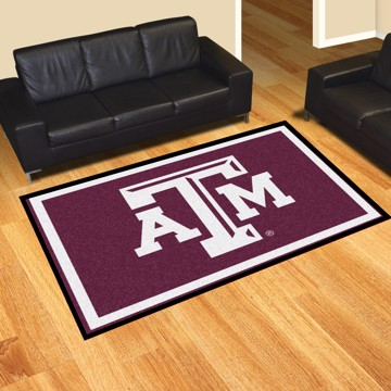 Picture of Texas A&M 5'x8' Plush Rug