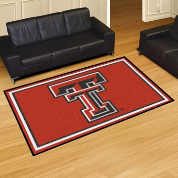 Picture of Texas Tech 5'x8' Plush Rug