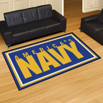 Picture of U.S. Navy 5'x8' Plush Rug