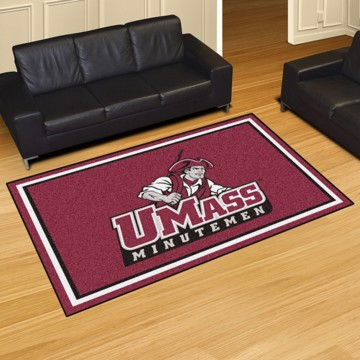 Picture of UMass 5'x8' Plush Rug