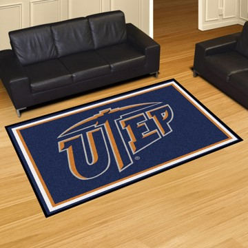 Picture of UTEP 5'x8' Plush Rug