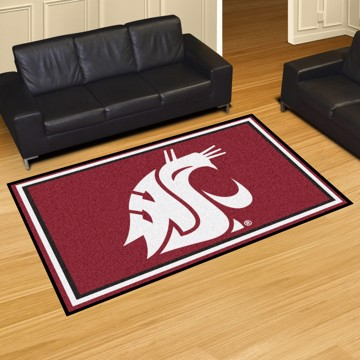 Picture of Washington State 5'x8' Plush Rug